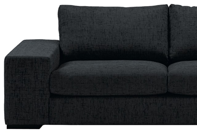 local sofa 2 sitzer mit chaiselongue rechts modern sofas by. Black Bedroom Furniture Sets. Home Design Ideas