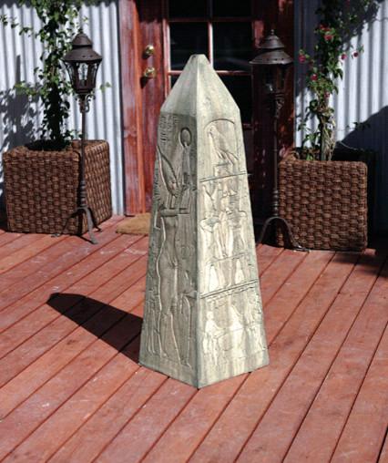 obelisk statue clectique statue et d co de jardin autres p rim tres par yard art. Black Bedroom Furniture Sets. Home Design Ideas