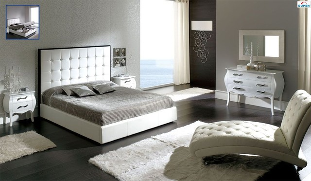 made in spain leather bedroom contemporary design with