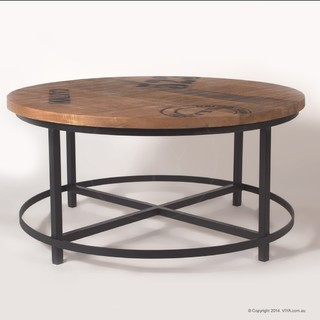 Orion Industrial Coffee Table Industrial Coffee Tables Melbourne By Viya