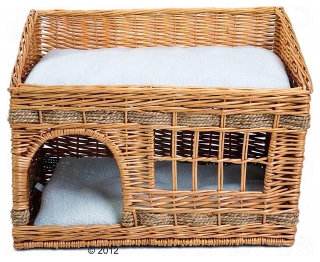 Pueblo cat den modern cat beds other metro by zooplus for Designer cat beds uk
