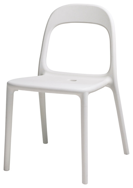 Urban chair white modern dining chairs by ikea uk - Ikea white dining chairs ...