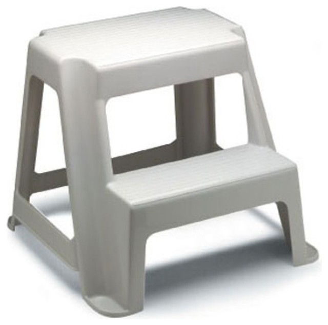 Rubbermaid Two Step Roughneck Step Stool Multicolor 3391