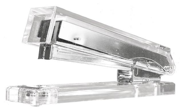 Kantek Acrylic Stapler - Modern - Desk Accessories - by Amazon