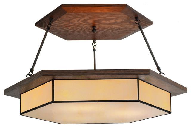 Craftsman Style Light - Craftsman - Chandeliers - by Mission Studio