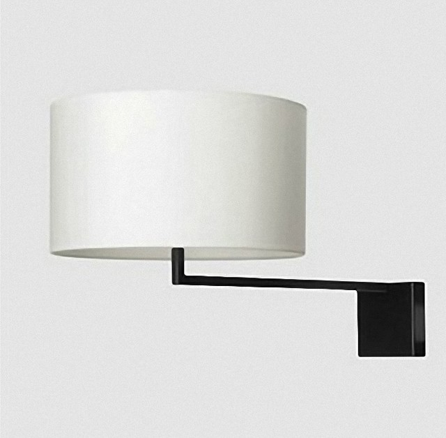 Modern Simple Bed Head Fabric Wall Sconce - Contemporary - Wall Sconces - new york - by PHOENIX ...