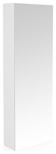 Luxy colonne de salle de bains avec miroir 120cm moderne placard et tag - Placard miroir salle de bain ...