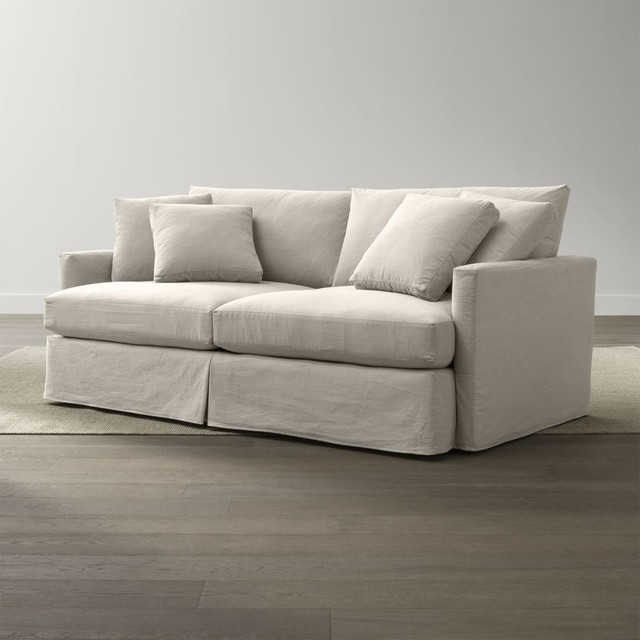slipcover only for lounge petite 83 sofa contemporary chaise longue. Black Bedroom Furniture Sets. Home Design Ideas