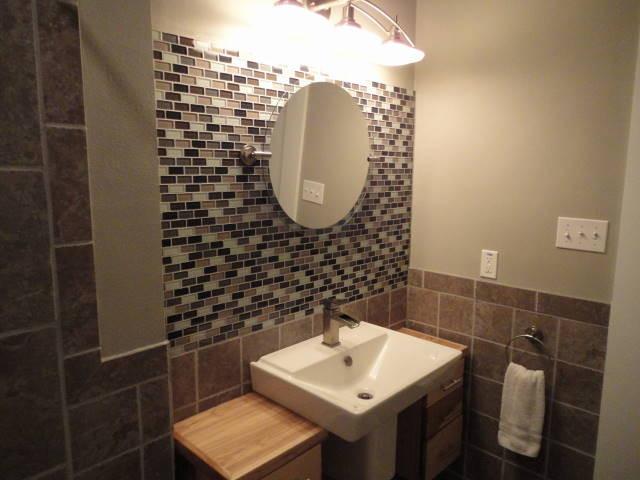 Small bathroom remodel for Modern small bathroom renovations