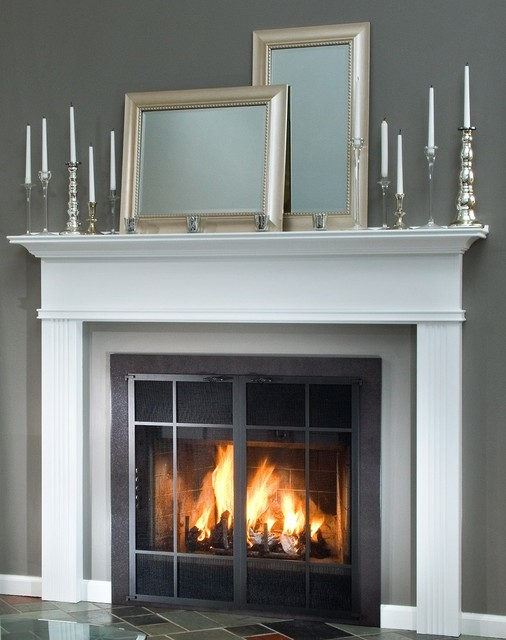 Fireplace Doors For Prefabricated - Prefab Fireplace Glass Doors - Best Fireplace 2017