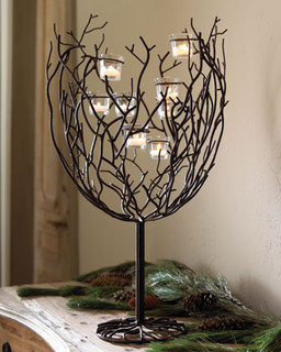 Twig Tree Centerpiece Traditional Home Decor By Horchow