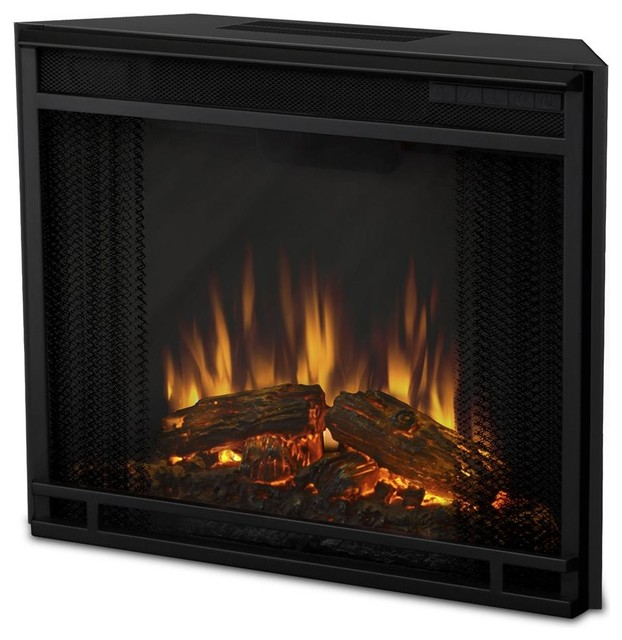 Electric Firebox Insert Contemporary Indoor Fireplaces