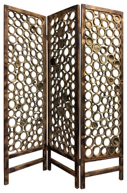 Screen Gems Bamboo Slice Screen Contemporary Screens And Room Dividers