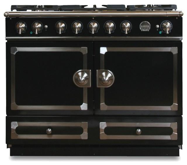 La Cornue Cornuf 233 Stove Gloss Black Traditional Ovens