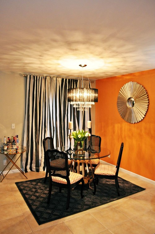 Turning A Blah Living And Dining Room Into A Vintage Glam Space