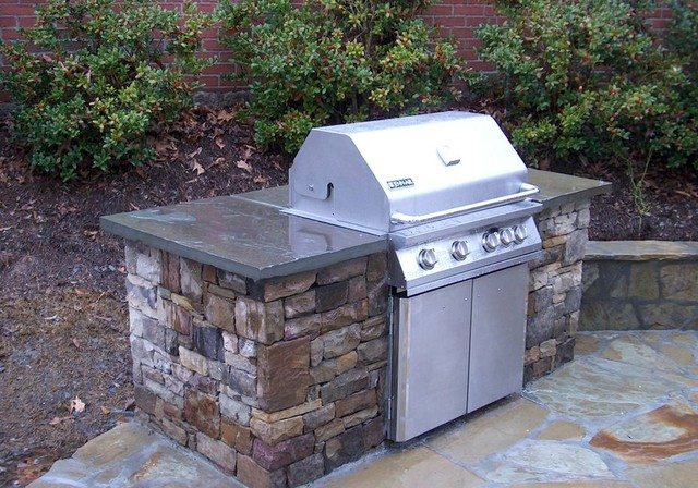 outdoor kitchens and grill enclosures atlanta by