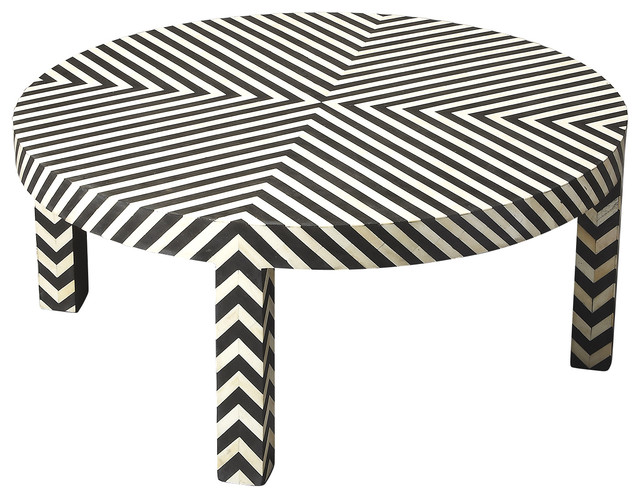 Bone Inlay Cocktail Table Coffee Tables By Kleban Furniture Co Inc