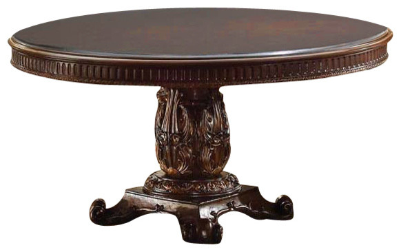 round cherry dining table 60 diameter traditional dining tables