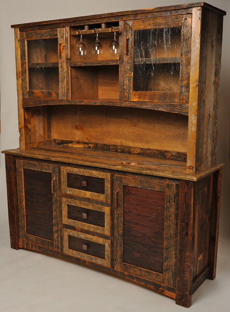 Buffet hutch rustic buffets and sideboards other
