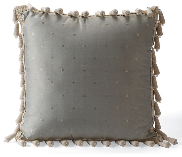 Decorative Pillow Trim : Bead Trim Decorative Pillow - Traditional - Decorative Pillows - by FRONTGATE