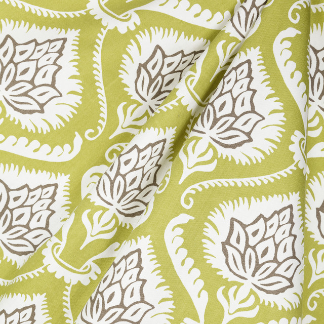 Heartichoke Palm Fabric New York By Loom Decor