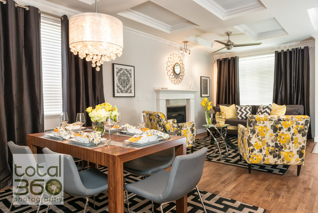 Property brothers renovation modern for Property brothers dining room designs
