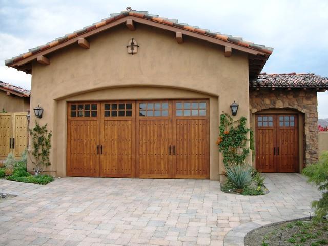 Mediterranean flair mediterranean garage doors and for Mediterranean garage doors