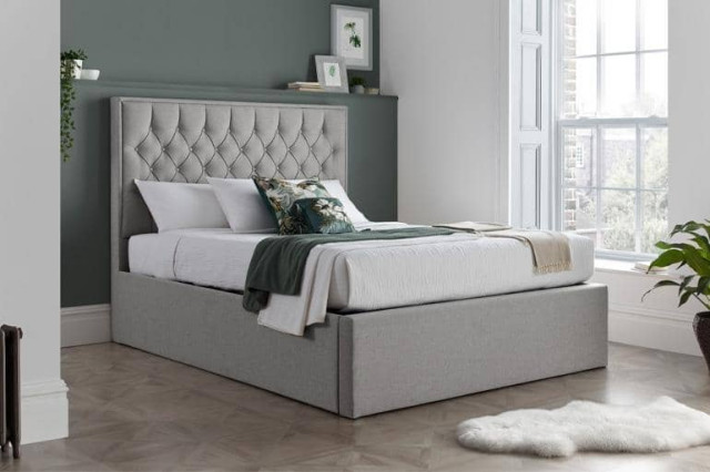 4ft6 Double Brent Ottoman Bed Contemporary Divan Beds Yorkshire And The Humber By Beds
