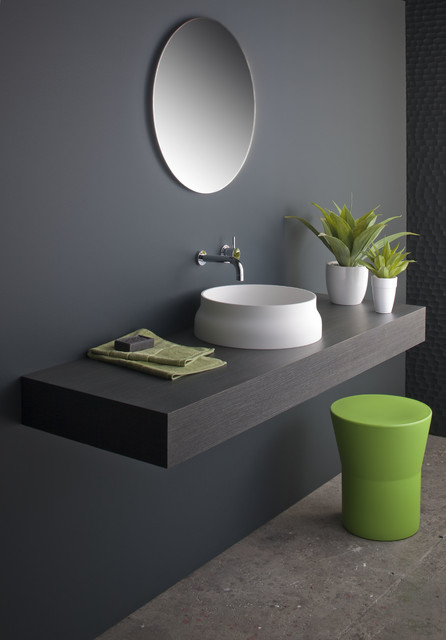 Latis Round Basin - Contemporary - Bathroom Basins - melbourne - by ...
