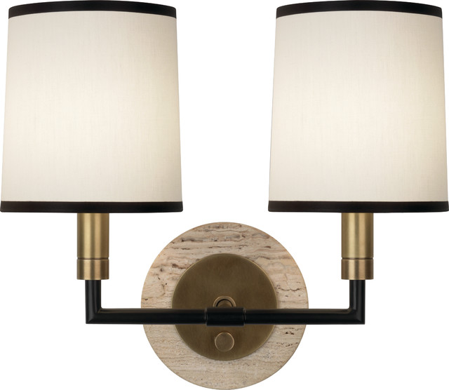 Wall Sconces Transitional : Axis 2-Light Wall Sconce - Transitional - Wall Sconces - by Seldens Furniture