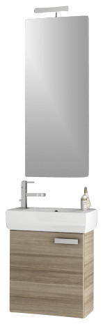 18 Inch Vanity With Sink : 18 Inch Larch Canapa Bathroom Vanity Set - Contemporary - Bathroom ...