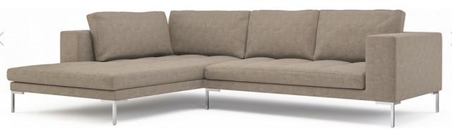 sofa henningsen 2 sitzer mit recami re contemporary. Black Bedroom Furniture Sets. Home Design Ideas