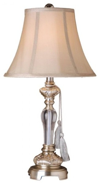Acrylic modern plating table lamps for bedroom - Traditional table lamps for bedroom ...