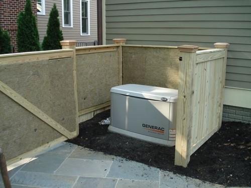 Backup generator and neighbor complaints for Garden design generator