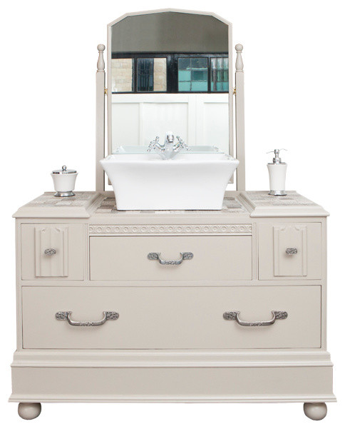 Traditional style vanity unit traditional bathroom for Bathroom cabinets yorkshire
