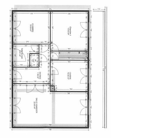 Renovation et optimisation maison de 70m2 for 70m2 house design