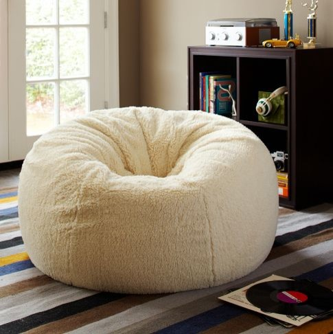 Sherpa Small Large Beanbags Eclectic Bean Bag Chairs