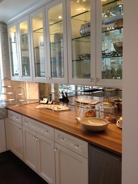 Walnut wood countertop kitchen countertops new york for Builder oak countertop