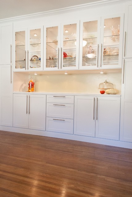 FE) Custom Dining Room Cabinet - Traditional - Los Angeles - by DB ...
