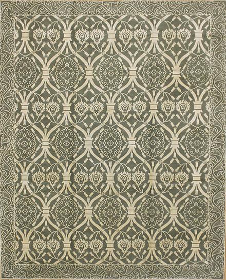 """Nepal Kashmeer Wool & Silk Rug 8' 0"""" X 10' 0"""""""