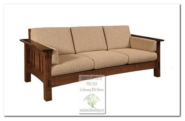Mission Style Sofas Craftsman Sofas Chicago By Green Craftsman Designs Inc