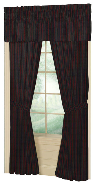 "... Curtain 40X80 Pl;10"" Lp - Contemporary - Curtains - by Patch Magic"