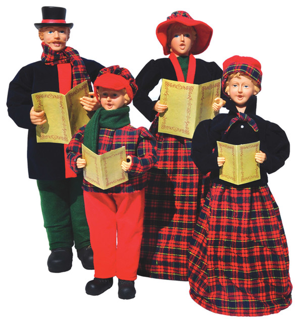 Christmas Carolers Yard Decorations: Outdoor Holiday Decorations
