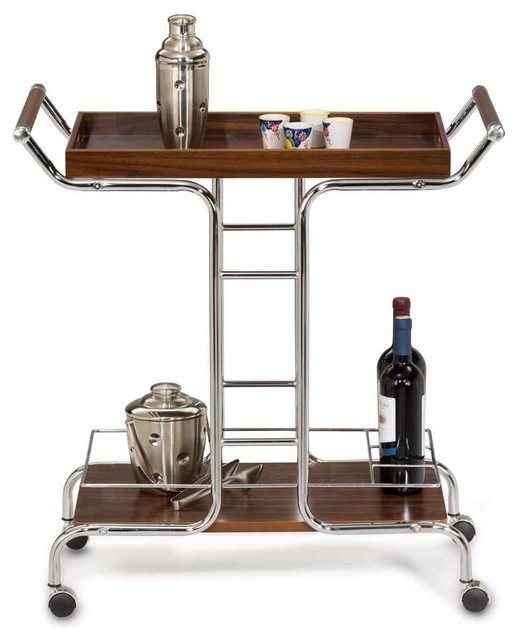 Panto Wine Serving Cart Contemporary Bar Carts By