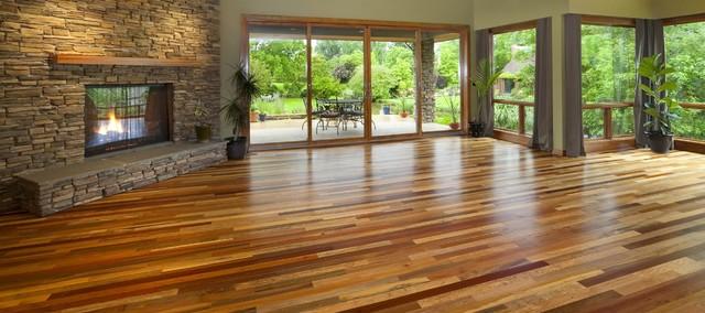 Jakarta tropical mix reclaimed wood flooring hardwood for Reclaimed wood flooring portland