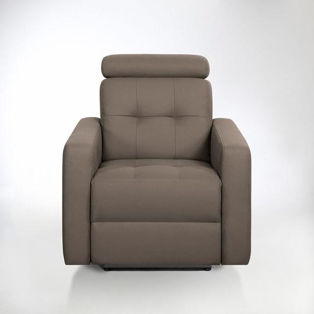 Fauteuil de relaxation lectrique julema en tissu contemporain fauteuil - Fauteuil relaxation tissu ...