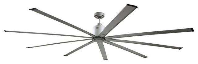 Big Air Ceiling Fans 72 In Metallic Indoor Industrial