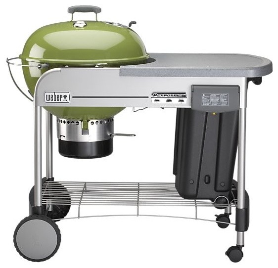 Weber Performer Grill Eclectic Outdoor Grills By