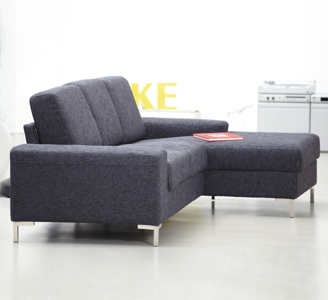 kopenhagen sofa mit longchair rechts in stoff moderne canap par. Black Bedroom Furniture Sets. Home Design Ideas