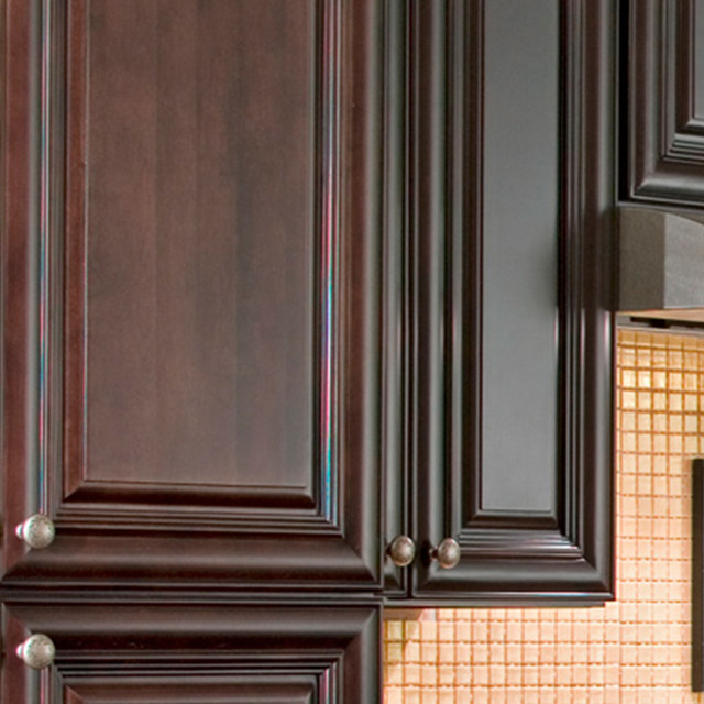 Findley & Myers Palm Beach Dark Chocolate Kitchen Cabinets ...